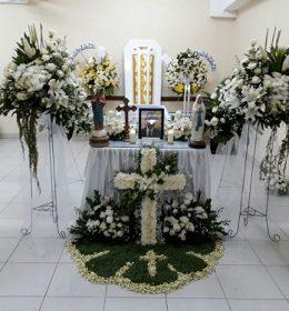 Bunga duka cita kristen