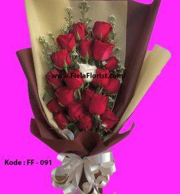 Buket bunga di toko bunga jakarta