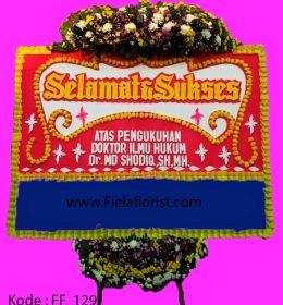 Bunga papan selamat sukses. hubungi kami Wa 081398091127