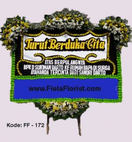 Jual bunga papan wilayah DKI Jakarta