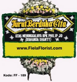 Bunga Papan Duka Cita Jakarta Barat