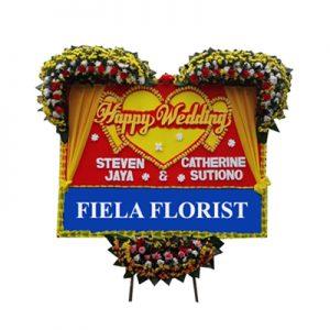 Bunga Papan Wedding Jakarta